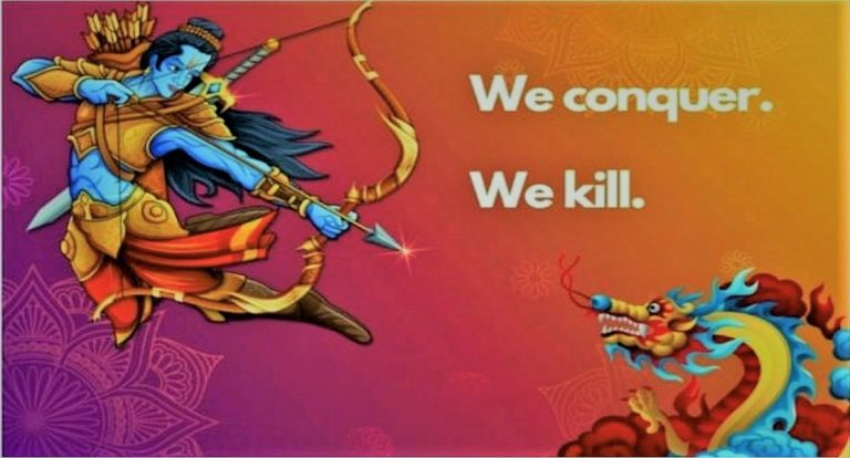 While dragon is panicked, why are some journos in India rejoicing martyrdom of our heroes?