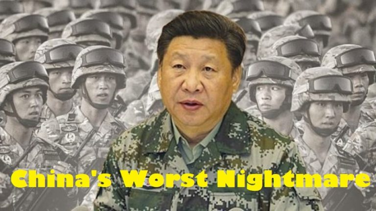 Breaking – China's worst nightmare coming true, this time from its own Army.
