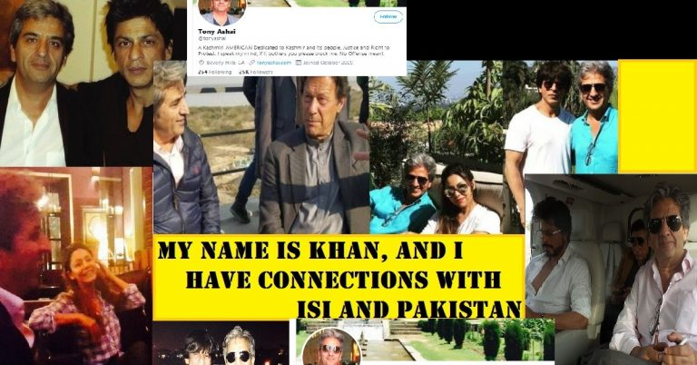 My name is Khan….and I have connections with ISI and Pakistan