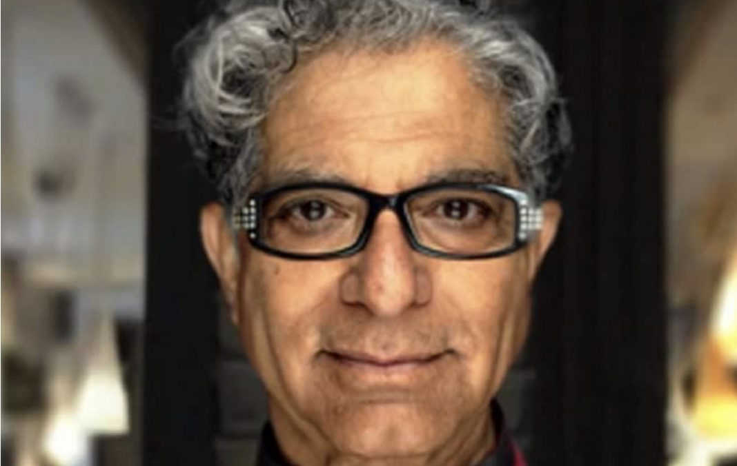 Deepak Chopra Photo credit, Facebook