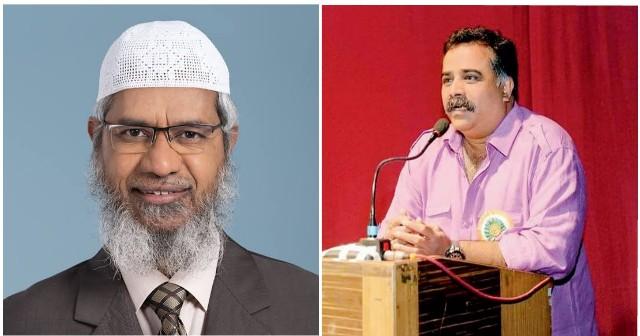 VHP Spokesperson Shriraj Nair Slams Zakir Naik for him Anti-Hindu Temple Remark