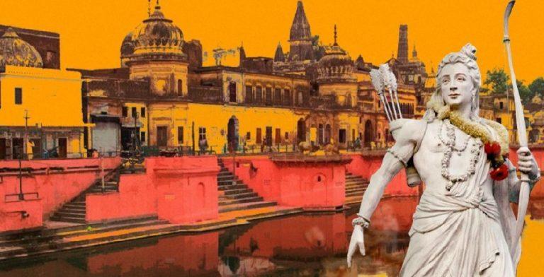 'Ram Lalla reconstruction' foundation laying – Hindu resurrection