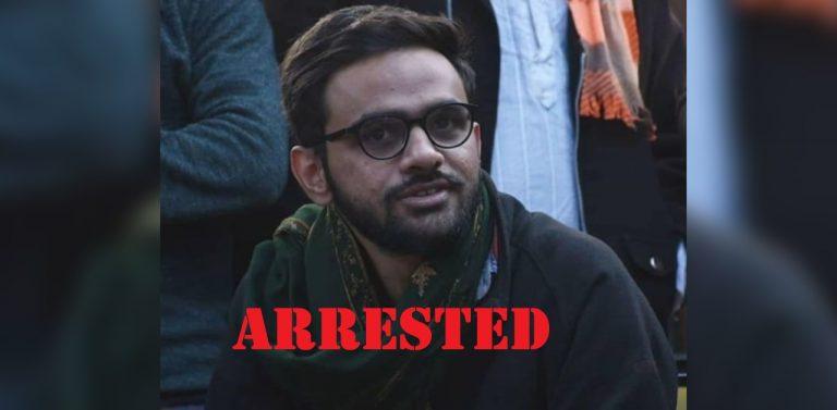Delhi riots case: Anti National Umar Khalid arrested under UAPA