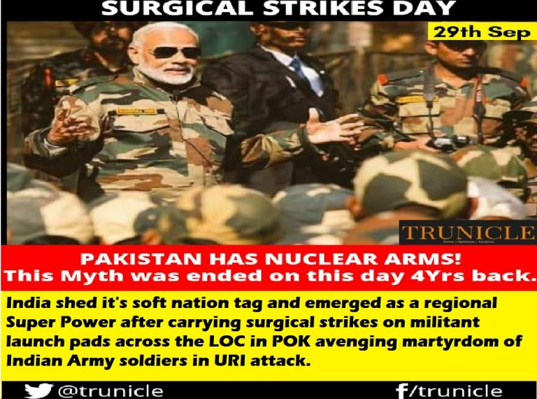 5 massive objectives India has achieved by conducting a Surgical Strike on Pakistan