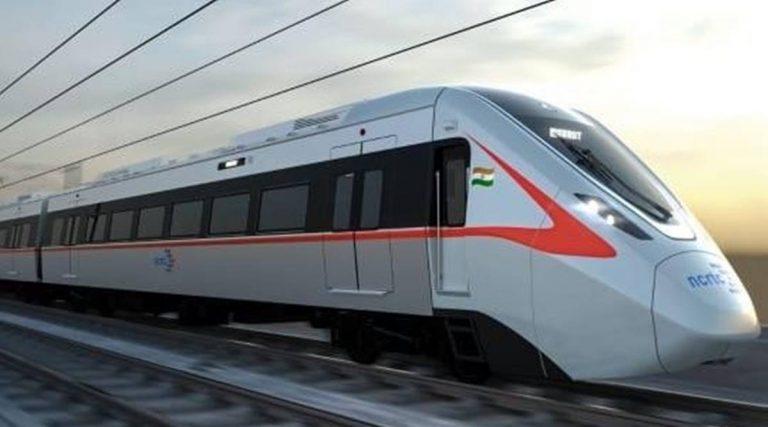 मेक इन इंडिया : सबसे पहले गाजियाबाद में दौड़ेगी रैपिड ट्रेन, फर्स्ट लुक जारी