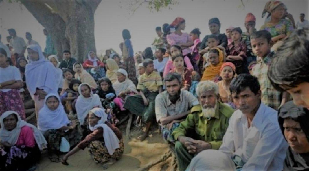 Rohingyas creating ruckus