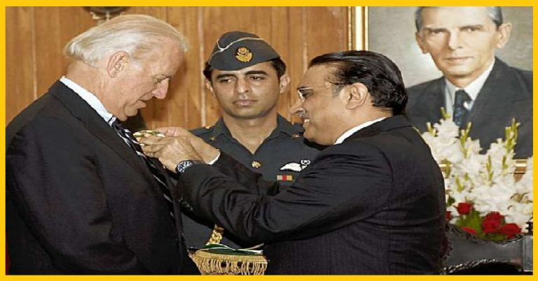 Joe Biden was awarded 'Hilal-i-Pakistan' for his 'constant support' to Pakistan. Will Indo-Americans vote for him?