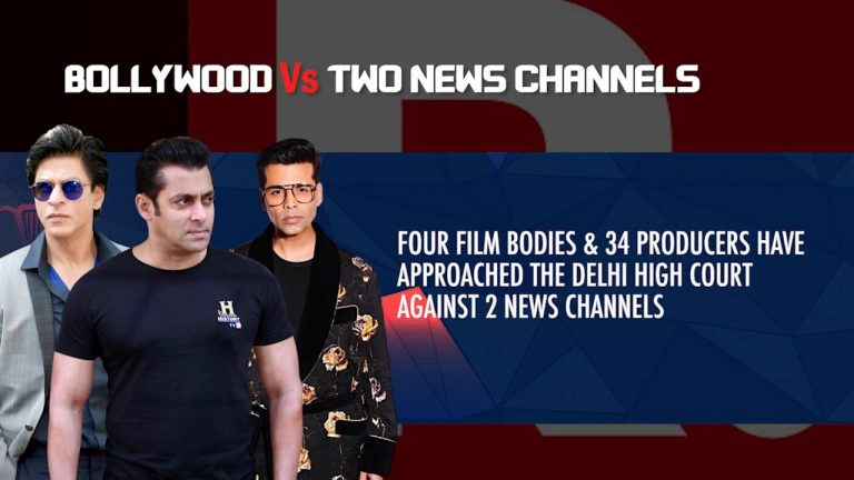 'Hum Saath Saath Hain'- Akshay, Ajay Devgn gang up with other Celebrities to stop Republic and Times Now from EXPOSING Bollywood's DARK Secrets !!