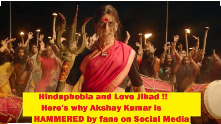 Hinduphobia and Love Jihad: Here's why Akshay Kumar is HAMMERED by fans on Social Media