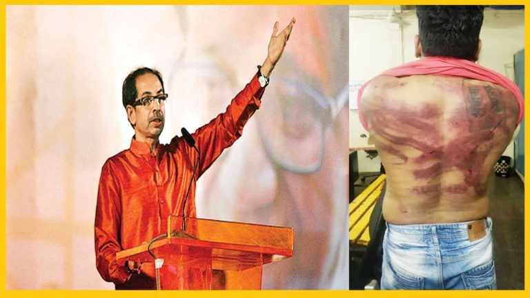 Maharashtra Minister's Bodyguards beaten Anant Karmuse for making a Meme, arrested 6 months after the incident, where is Freedom of Expression Mr. Thackeray?