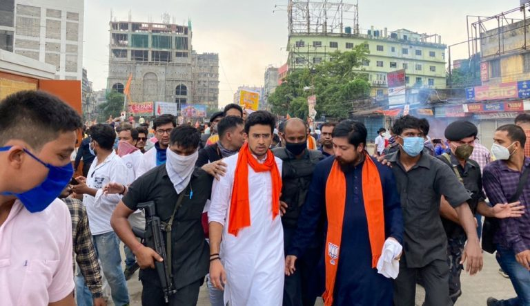 BENGAL'S ENCOUNTER WITH FASCISM & The entry of youth  BJP leader Tejwasvi Surya