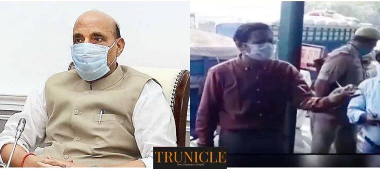 पीलीभीत डीएम के तेवर देख घबराए अफसर, लापरवाही पर चार सेंटर प्रभारी निलंबित, रक्षा मंत्री राजनाथ सिंह ने फ़ोन कर बढ़ाया डीएम पुलकित खरे का हौसला
