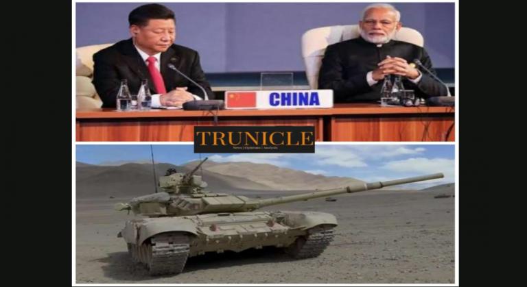 चीन को युद्घ में हराने की जोरदार तैयारी में, भारतीय सेना ने लद्दाख में 17 हजार फीट की ऊंचाई पर टैंक तैनात किए