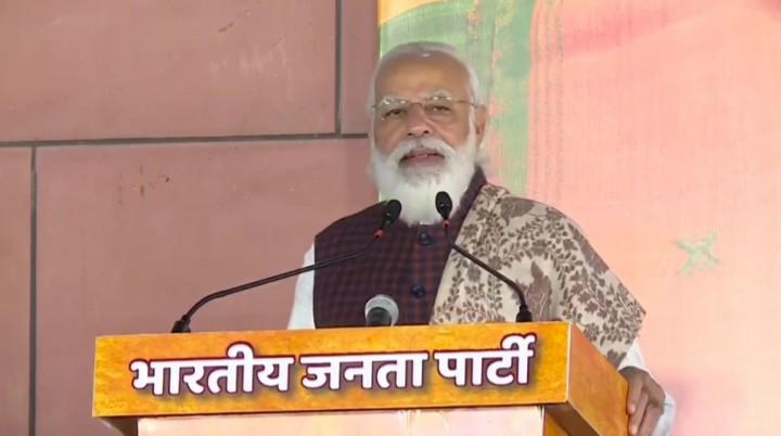 मृत्यु इत्यस्य क्रीड़ा लोकतन्त्रे न चरशक्नोति- पीएम नरेंद्र मोदी: ! मौत का खेल लोकतंत्र में नहीं चल सकता – पीएम नरेंद्र मोदी !