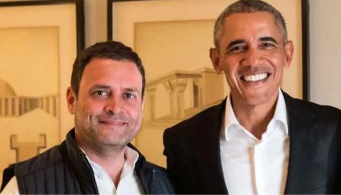 राहुल गांधीम् गृहित्वा किं विचार्यति, बराक ओबामा: ! राहुल गांधी को लेकर क्या सोचते हैं, बराक ओबामा !