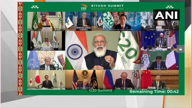 जी-२० इति शिखर सम्मेलने सम्मिलित: पीएम मोदी: ! जी-20 शिखर सम्मेलन में शामिल हुए पीएम मोदी !