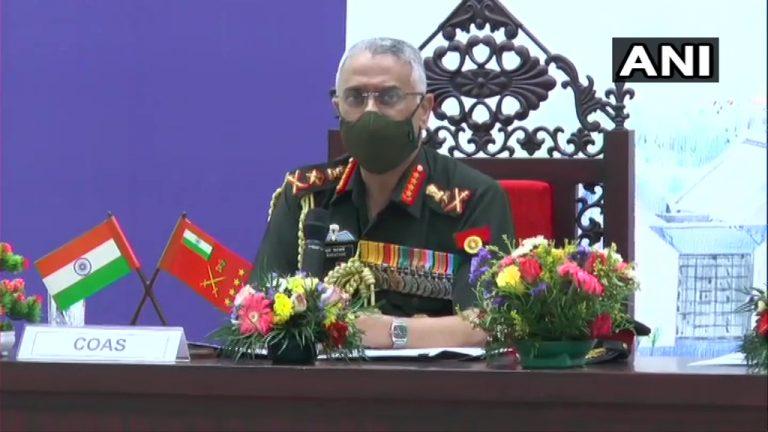 गुप्तमार्गेण अवैधप्रवेशस्य प्रयत्नम् करोति अतंकिम्-सैन्यप्रमुख: एमएम नरवणे: ! सुरंगों के द्वारा घुसपैठ की कोशिश कर रहे आतंकी- सेना प्रमुख एमएम नरवणे !
