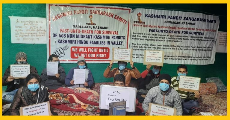 """""""Please Help US"""" – We are Kashmiri Hindus, who choose to stay in the Kashmir valley, fought with Islamist Terror; still waiting for our rightful dues !!"""