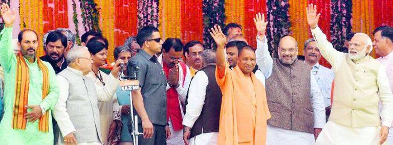 Why should #TheMonkFromGorakhpur succeed Modi/Shah ?