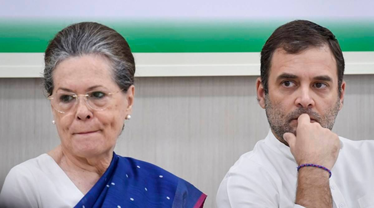 Will Sonia Gandhi enact Rahul's act of 2019 in 2024 ?
