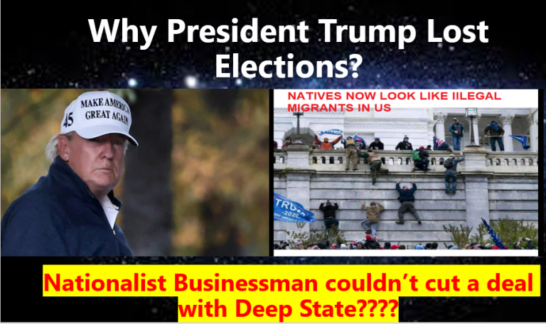 Why Trump lost Elections?