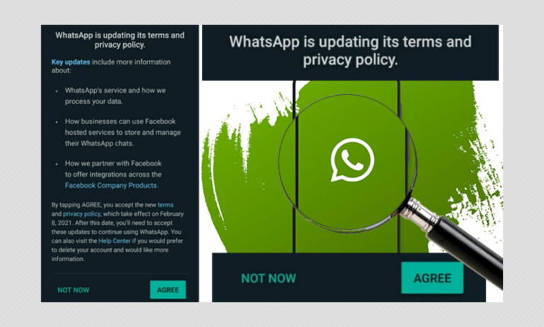 What happens if you don't consent: WhatsApp won't allow users to READ or SEND messages if they reject new privacy rules ?