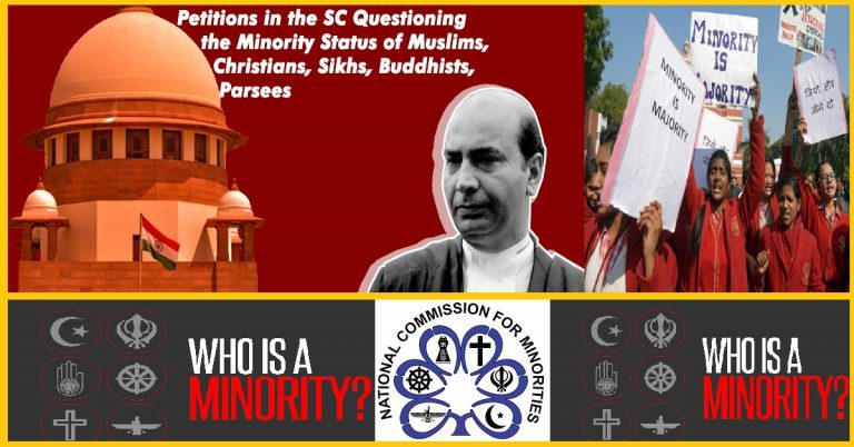 SC issues notice to Modi Govt, seeking a definition of Minority & Guidelines for their Identification