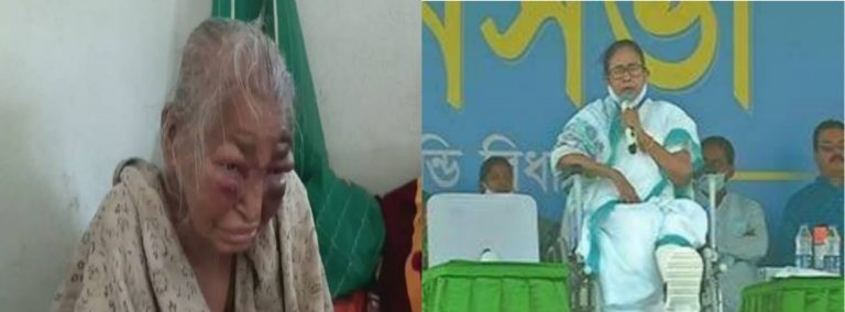One Bangla'r Meye is Dead while another projects herself as CM.