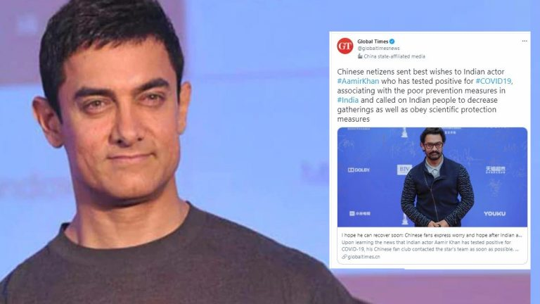 Chinese fans of Aamir Khan wish him a speedy recovery & preach Indians about Health and Hygiene