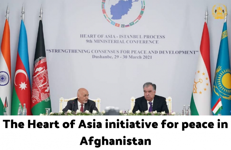 The Heart of Asia initiative for peace in Afghanistan