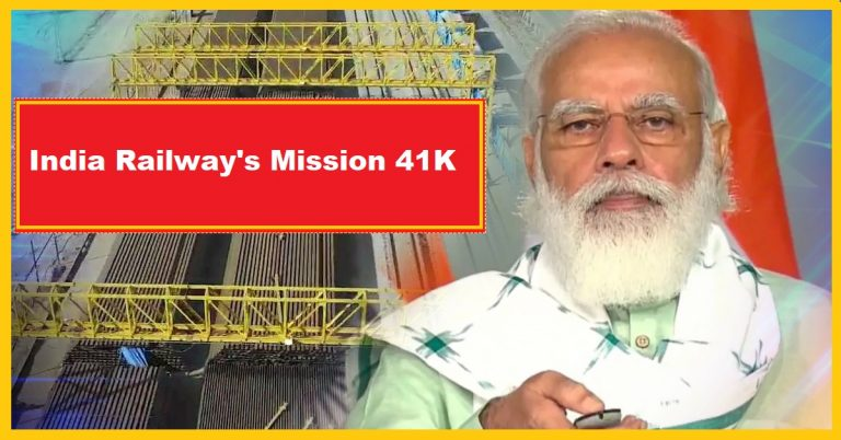 India Railway's Mission 41K- Check how it is transforming Railways and reducing the Fossil Fuel bill