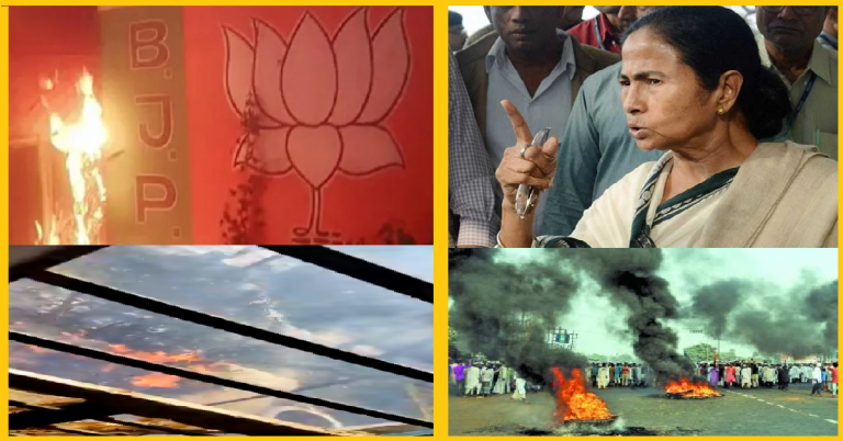 Hail Democracy – Mamata's TMC wreck havoc on Hindus and Violated EC & COVID  Norms once election results were out