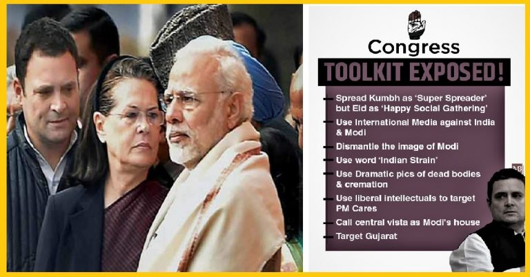 EXPOSED – Congress's EVIL toolkit to attack and defame our Nation, our Government, and PM Modi