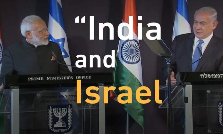 """The Great """"Leap of Faith"""" by Israel & India in redressing Palestine & Kashmir problem"""