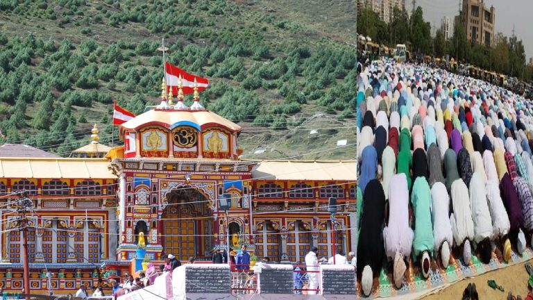 Muslims offered Namaz in SACRED Badrinath Dham – Agitated Hindus  demand ACTION