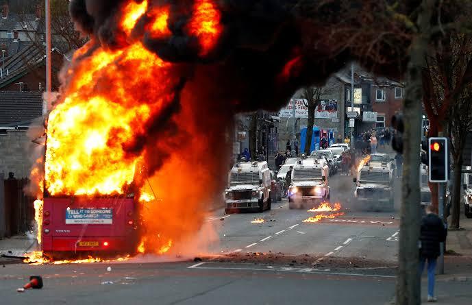 Riots in Belfast