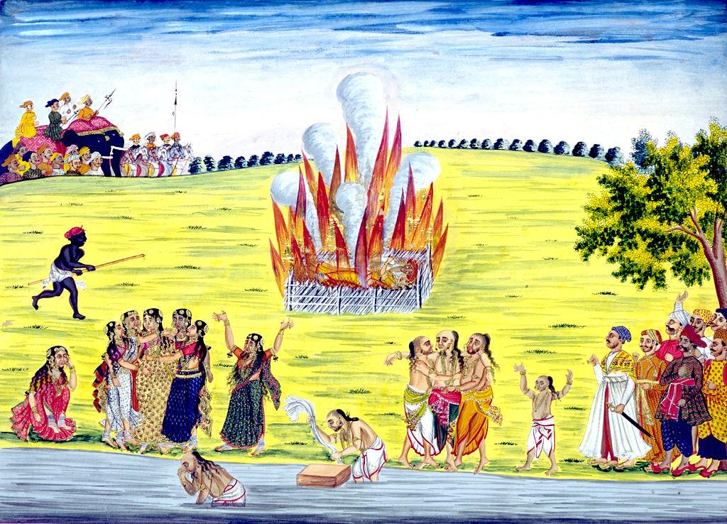 Bursting mistaken beliefs of Sati