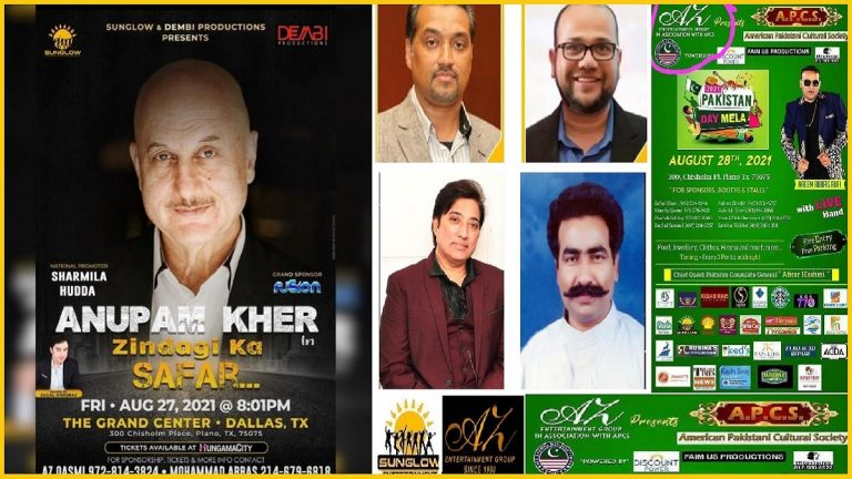'Zindagi Ka Safar' in Dallas – Is Anupam Kher 'Unaware' that organizers are from Pakistani Origin??