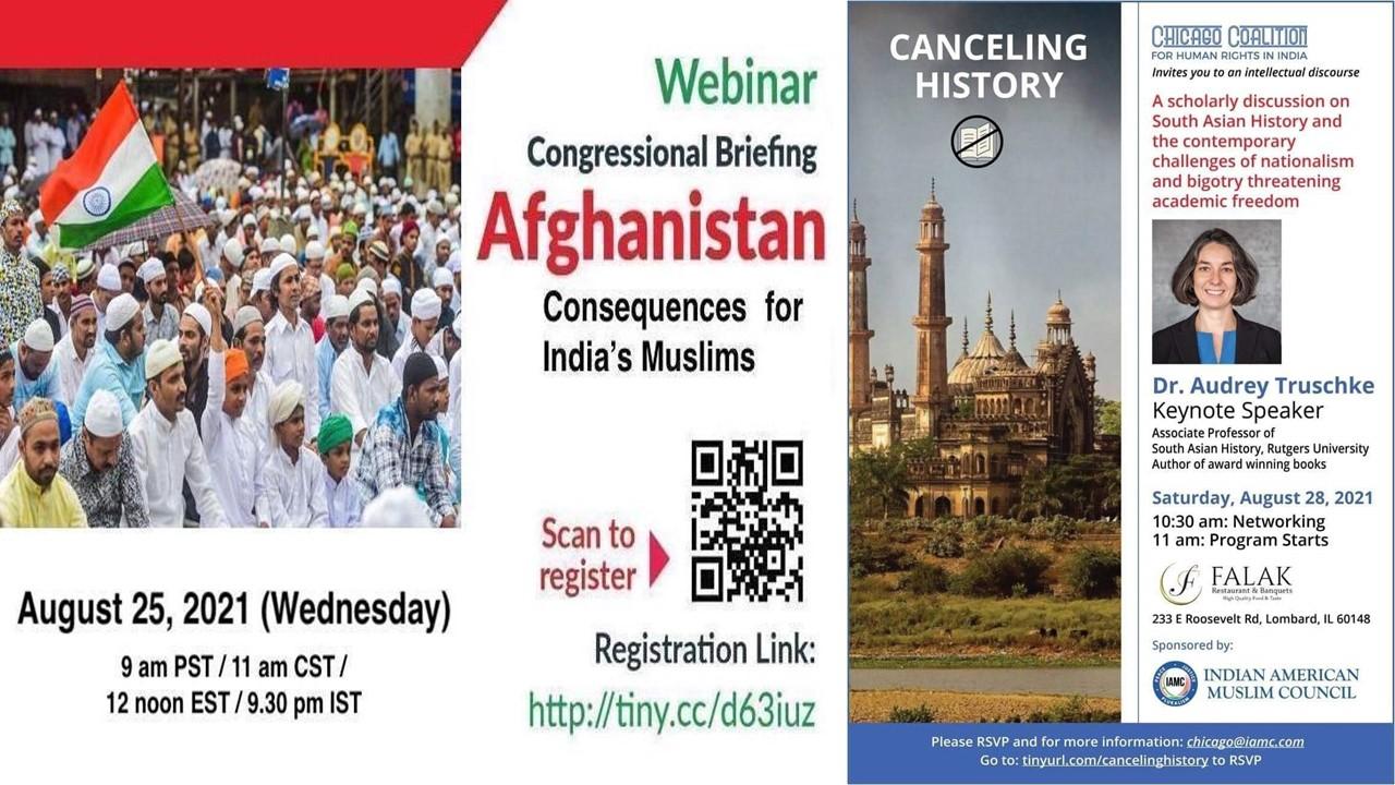 Global Conspiracy to legitimize Taliban control in Afghanistan & plant false narrative against Hindutva, RSS