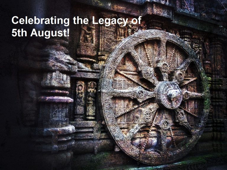 Celebrating the Legacy of 5th August!